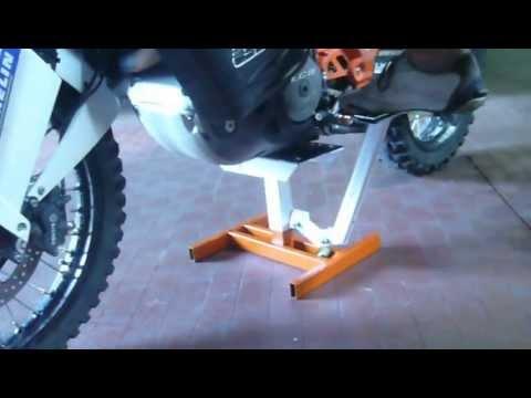 Racing tech 1 cavalletto alzamoto doovi for Costruire cavalletto alzamoto cross
