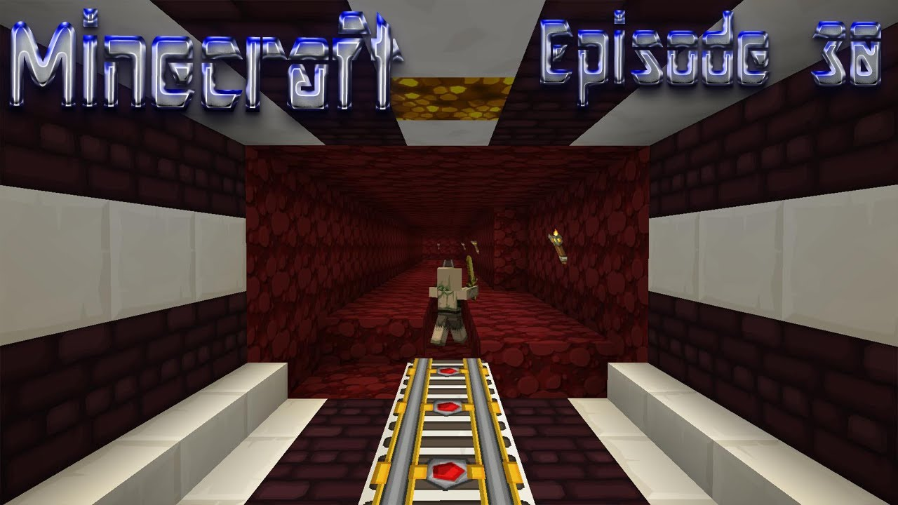 Lets Play Minecraft Episode 30 Designing The Nether Tunnel Youtube