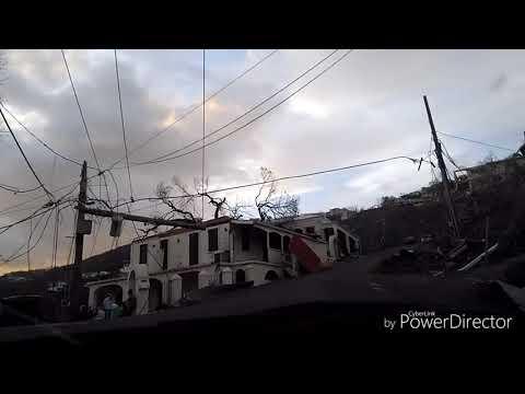 St Thomas post Irma 9-9-17