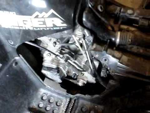 FIXING CARBURETOR ON ATV - YouTube
