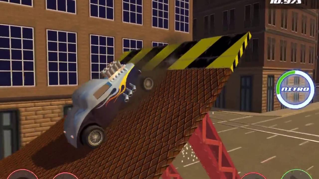 STUNT CAR CHALLENGE 3 Android IOS Gameplay Video