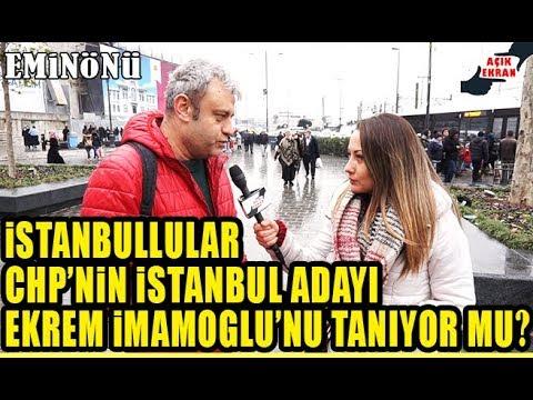 İstanbul'a Sorduk. Ekrem İmamoğlu Hakkında Ne Düşünüyorsunuz?