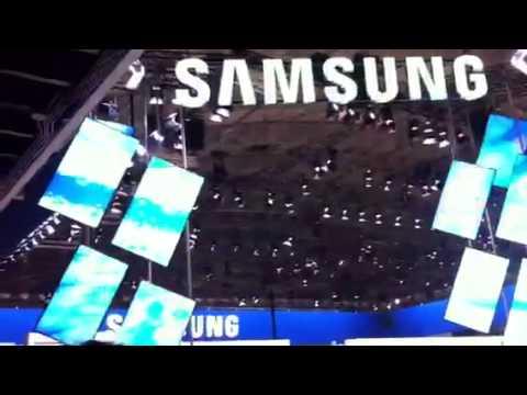Samsung digital screens