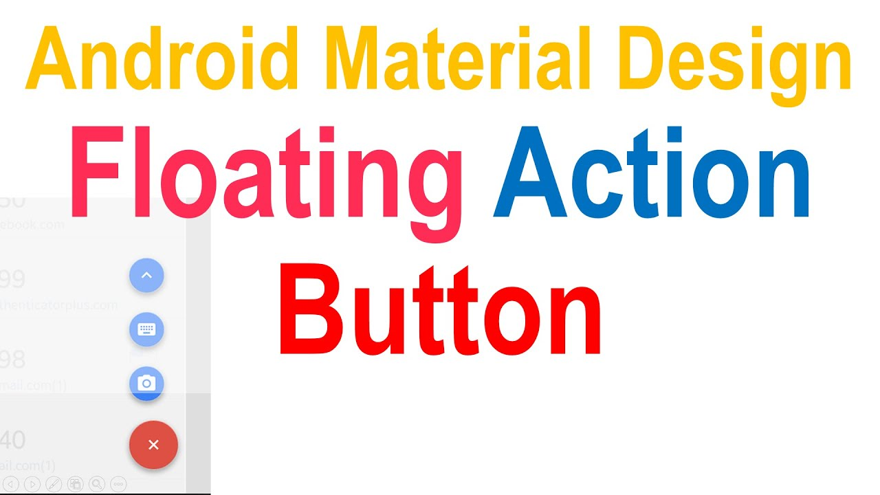 253 Android Floating Action Button |