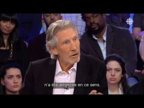 Roger Waters talks about palestine BDS  VOSTFR
