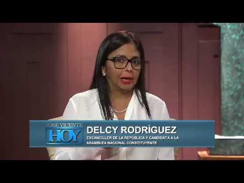 José Vicente Hoy - Domingo 09-07-2017 - Delcy Rodríguez