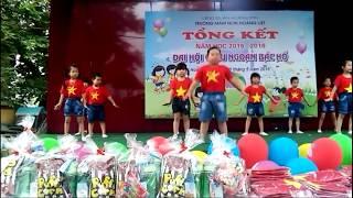 AEROBIC NỐI VÒNG TAY LỚN Trường MN Hoàng Liệt 2015 - 2016