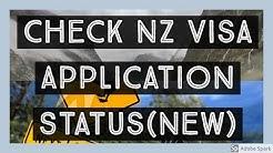 Check NZ Visa Application Status Online 2020