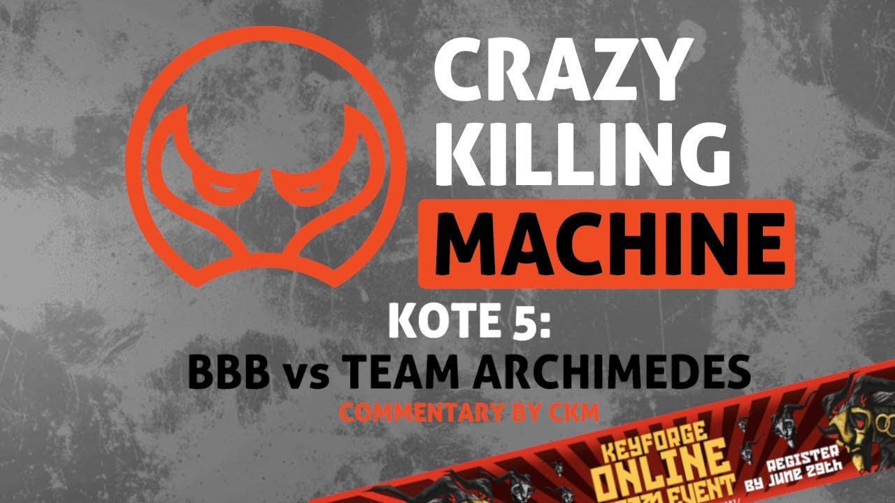 KOTE 5 Commentary: BBB vs Team Archimedes