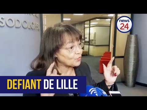 De Lille: 'I fear no one but my God'