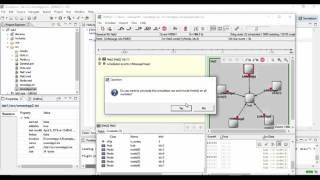 Traffic generator,sink and a Hub using Omnet