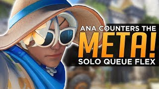 Overwatch: Ana Counters EVERYTHING! - Beat the META!