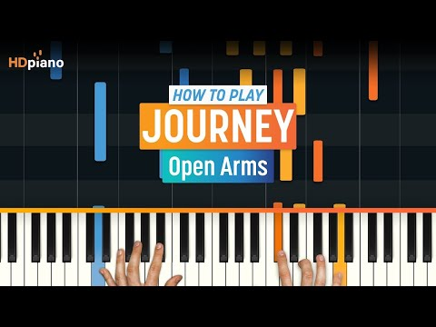 "How To Play ""Open Arms"" by Journey 