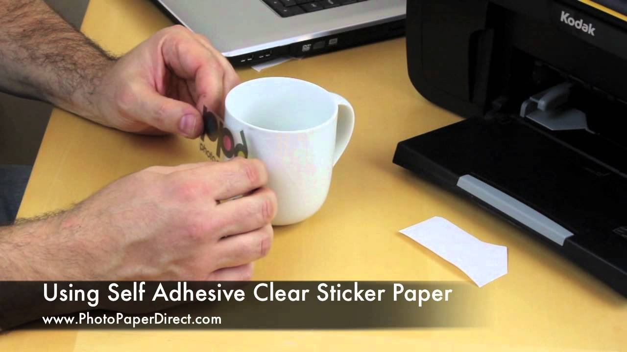picture regarding Printable Clear Labels known as Getting Self Adhesive Obvious Sticker Paper