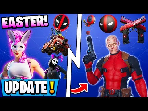 *NEW* The DEADPOOL Update, Free Style & Items, All Easter 12.30 Skins!