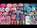PEPPA PIG and Mickey Mouse Slime Pink vs Blue | Mixing Beads and Glitter into Slime | LaLa Slime