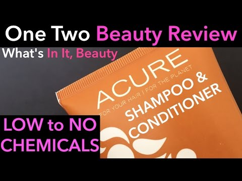 acure-organics-natural-argan-shampoo-&-conditioner---one-two-beauty-review-|-what's-in-it,-beauty?