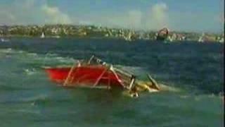 Atropello Skiff in aanvaring met veerboot