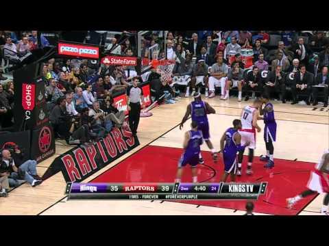 Sacramento Kings vs Toronto Raptors | March 7, 2014 | NBA 2013-14 Season