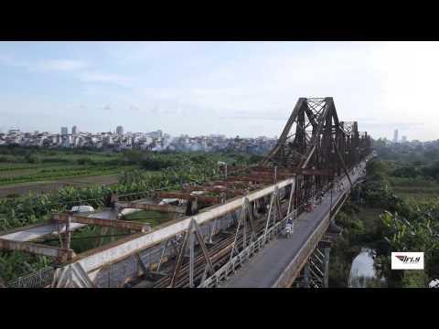 Cầu Long Biên Hà Nội - Flycam by IFLY TEAM