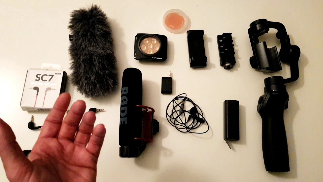 التصوير والمونتاج عبر الجوال #صحافة_الموبايل - الأدوات المساعدة للتصوير