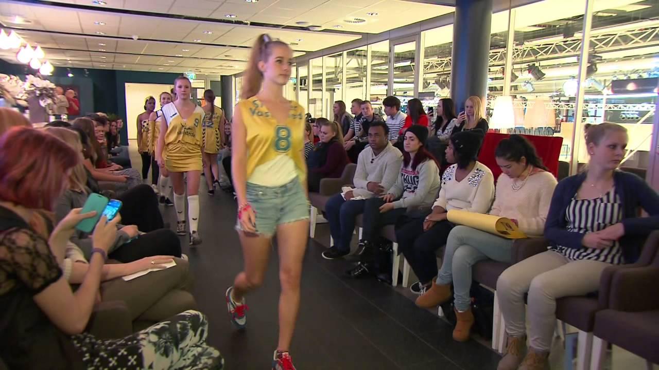 Studenten mooi mode van landstede mbo ontwerpen kleding for Interieur opleiding mbo