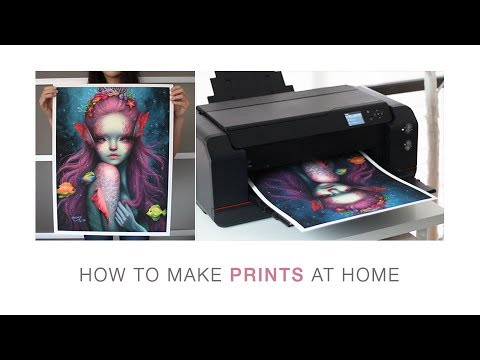 HOW TO MAKE PRINTS At Home! ❤️ Tutorial
