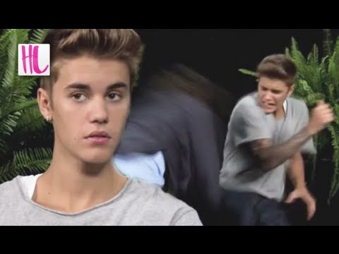 Justin Bieber Spanked On 'Between Two Ferns With Zach Galifianakis'