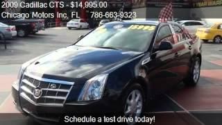 2009 Cadillac CTS 3.6L V6 - for sale in Miami, FL 33142