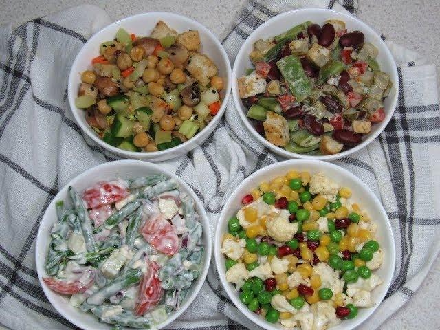 Dieta pe bază de salate. Slăbeşti 4 kilograme în 7 zile!