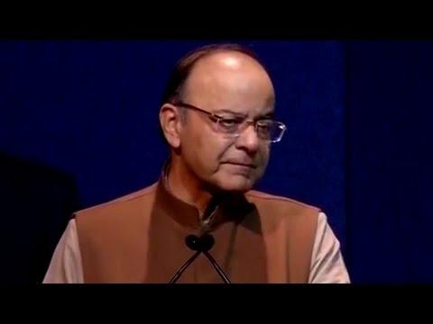 FM Arun Jaitley On Cash In Rural Areas | War On Black Money
