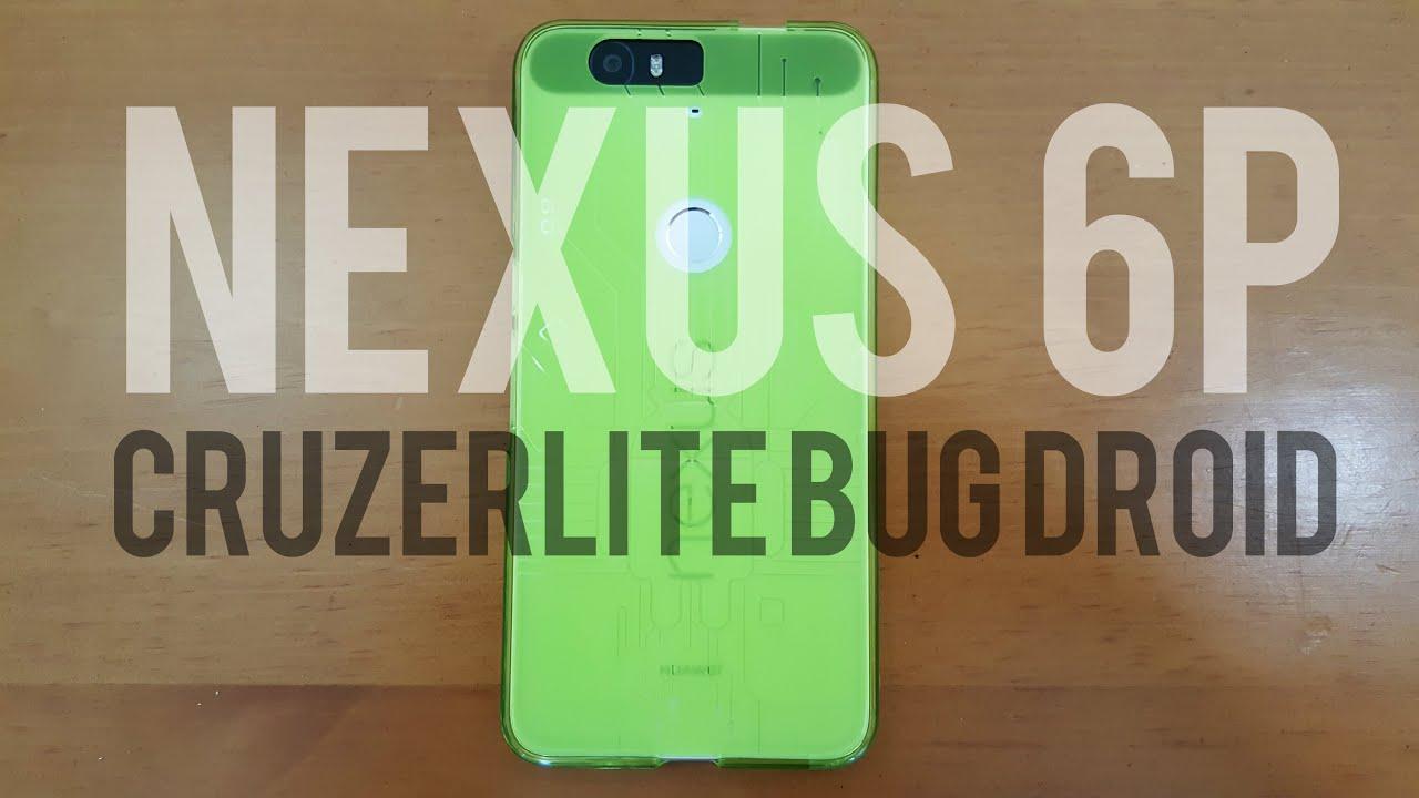 super popular 9c6ed f72f3 Cruzerlite Bug Droid Case for the Huawei Nexus 6P