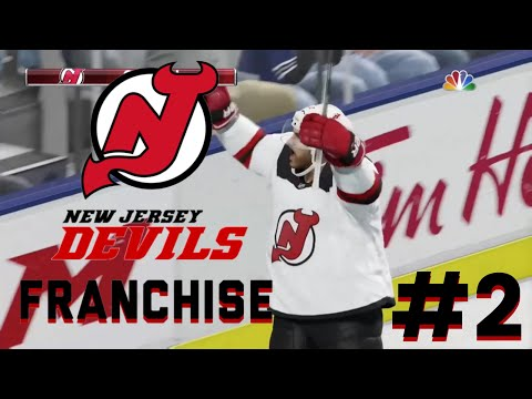 NHL 18 New Jersey Devils Franchise Mode S1 EP2 ~ THIS OFFENSE IS AMAZING