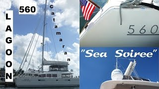 Lagoon 560 catamaran for sale in Florida