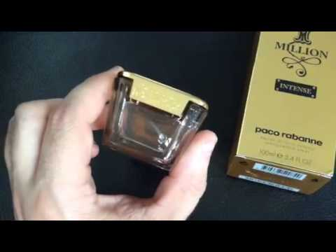 1 Million Intense Review Paco Rabanne Youtube