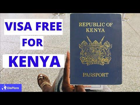 Visa Free Countries For kenyan Passport Holders