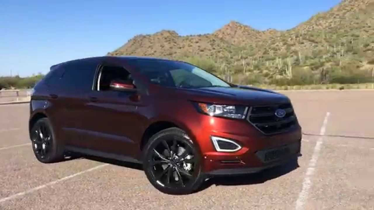 Ford edge 2016 sverige