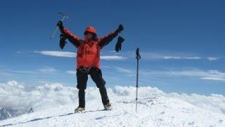 Mont Blanc 4810 m. - Gouter Route - Solo - 2013