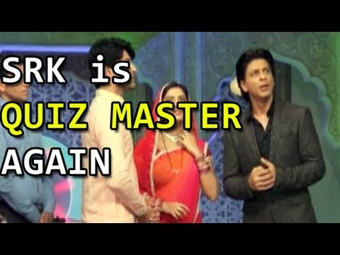 Diya Aur Baati Hum : Shahrukh Khan plays the Quiz Master on the sets
