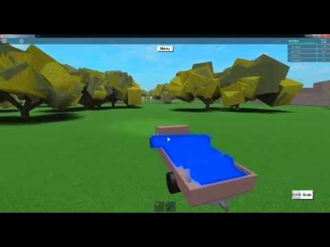 ROBLOX Lumber Tycoon 2 Blue Wood Tree !!! New