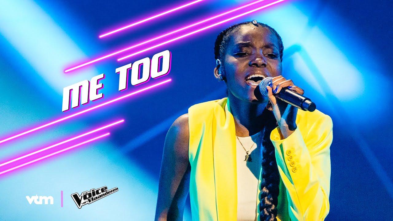 Grace - 'Me Too' | Liveshow 2 | The Voice van Vlaanderen | VTM