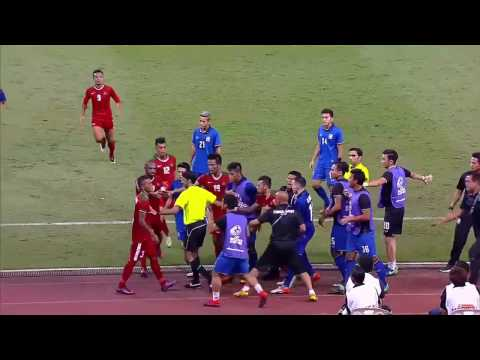 Footbal Players, Angry indonesian player| Thailand vs Indonesia HD Craziest Player AFF Suzuki Cup
