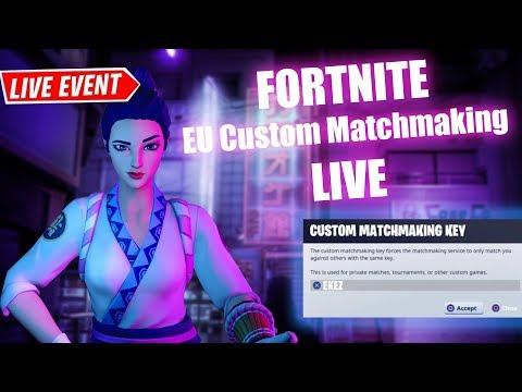 🔴 (EU) Fortnite Item Shop Countdown Live! Custom Matchmaking !member !epic