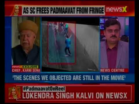 Karni Sena Chief Lokendra Singh Kalvi in an exclusive conversation with NewsX over Padmaavat release
