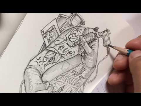 Tattoo Hands By OGABEL