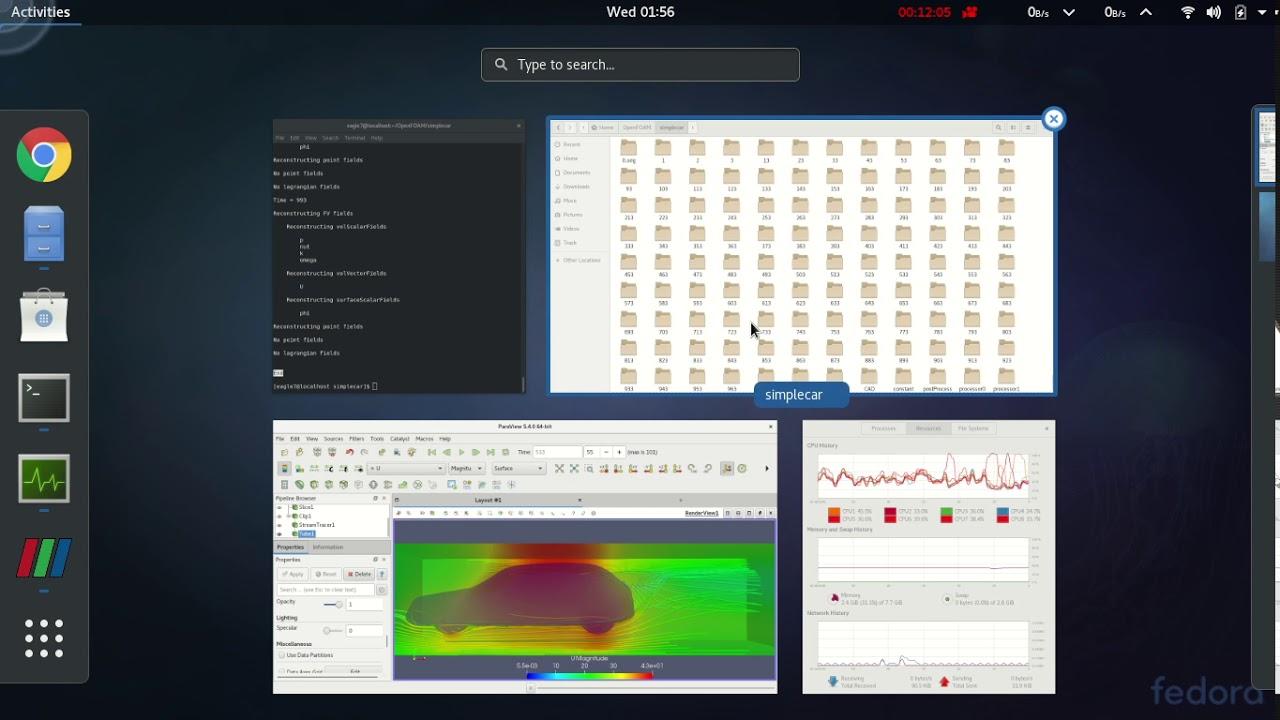 Flow simulation around a car in OpenFOAM® Part 3 tutorial