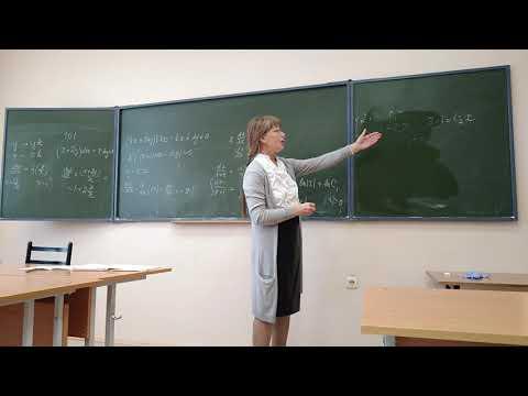 Дифференциальные уравнения - практика 1