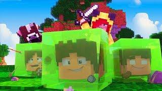 Minecraft: DISFARCE DE SLIME - (Esconde-Esconde com Mobs)