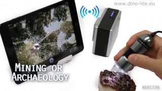 Dino-Lite WiFi Streamer(Este nuevo adaptador inalámbrico permite que los modelos USB de Dino-Lite se puedan utilizar de forma inalámbrica conectados a un iPad, iPhone, iPod ..., 2014-04-07T12:24:43.000Z)