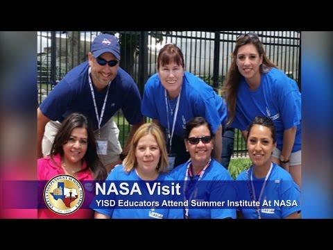 YISD Educators Attend Summer Institute at NASA